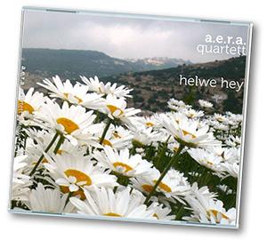 """CD-Cover """"helwe hey"""" von A.E.R.A. Quartett"""